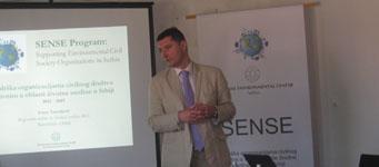 Podrška organizacijama civilnog društva u oblasti zaštite životne sredine u Srbiji
