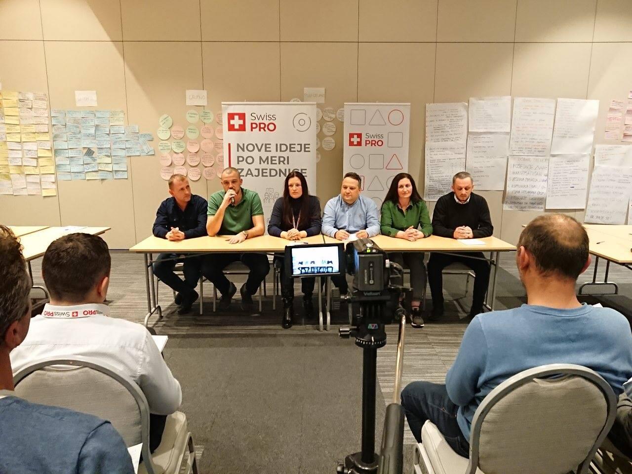 Trening za trenere u organizaciji programa Swiss PRO